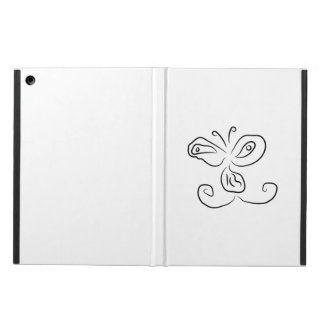 Funny Cartoon Insect Face iPad Air Case