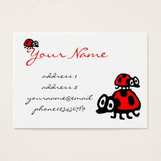 funny cartoon ladybugs