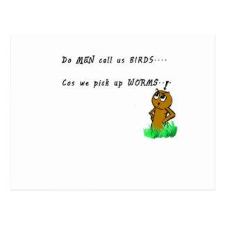 funny cartoon novelty item postcard