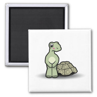 Funny Cartoon Shell-less Tortoise Magnet