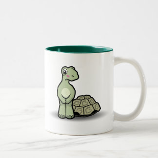 Funny Cartoon Shell-less Tortoise Mug