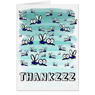 funny cartoon thank you card