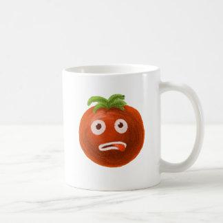 Funny Cartoon Tomato Coffee Mug