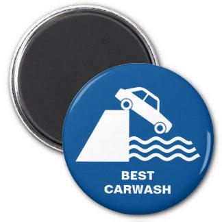 Funny Carwash Sign Magnet
