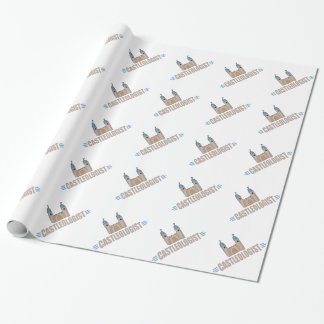 Funny Castle Wrapping Paper