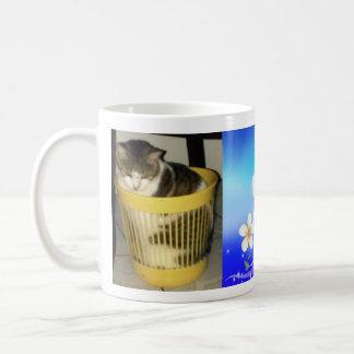 Funny cat coffee mug