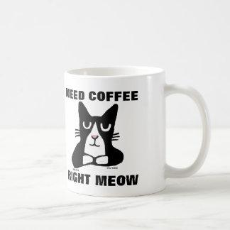 Funny Cat Coffee Mugs, Panda Kitty Coffee Mug