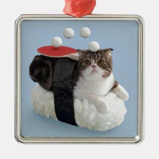 Funny Cat Ornament