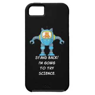 Funny Cat Engineering Scientist Robot Science iPhone 5 Case