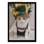 Funny Cat German Birthday
