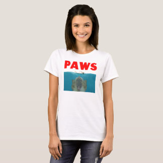 Funny Cat Kitty Paws Movie Parody T-Shirt