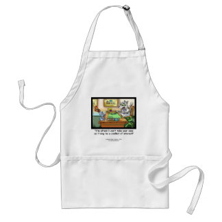 Funny Cat & Lawyer Funny Apron