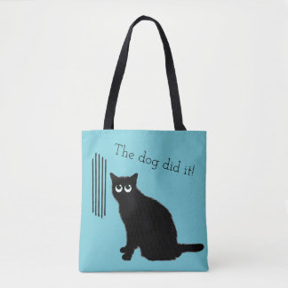 Funny Cat Lovers Tote Bag