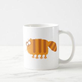 Funny Cat Basic White Mug
