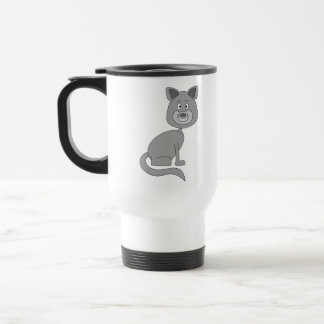 Funny Cat. Mug