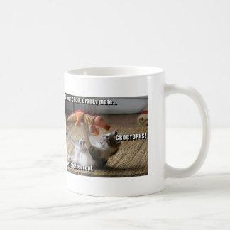 (funny cat ) basic white mug