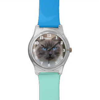 Funny Cat Photo Watch Gift