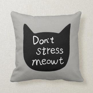 Funny Cat Pillow Cute Cat cushion Cat lover gift