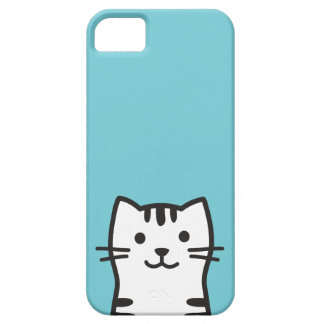 Funny cat portrait case for the iPhone 5