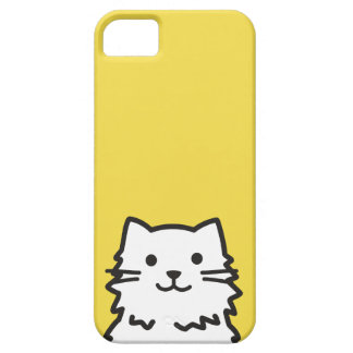 Funny cat portrait iPhone 5 cover