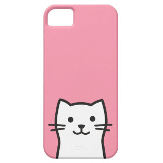 Funny cat portrait iPhone 5 covers