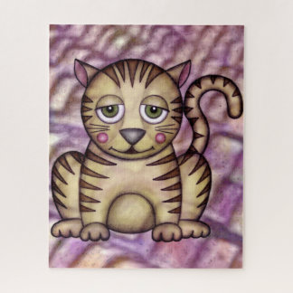 "Funny Cat Puzzle, 16"" x 20"", 520 pieces Jigsaw Puzzle"