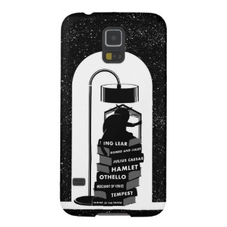 Funny Cat Reading Shakespeare Plays Galaxy S5 Cover
