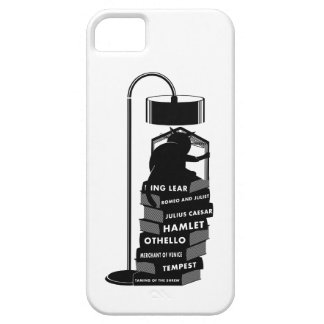 Funny Cat Reading Shakespeare Plays iPhone 5 Cover
