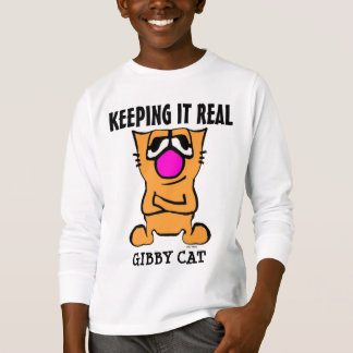 Funny Cat T-shirts for boys  GIBBY CAT