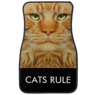 Funny Cat Theme Car Mat