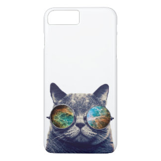 Funny Cat With Glasses iPhone 7 Plus Case