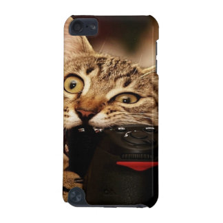Funny cats - cat camera - cat bite iPod touch 5G case