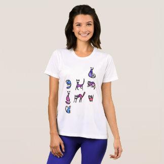 Funny cats Women's Sport-Tek Competitor T-Shirt