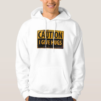 "Funny, ""CAUTION, I Give Hugs"" T-shirt"