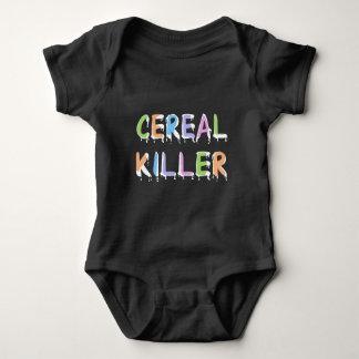 Funny   Cereal Killer Pun Baby Bodysuit