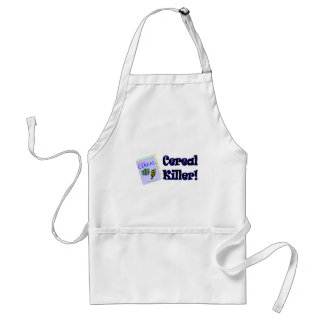 Funny Cereal Killer T-shirts Gifts Standard Apron
