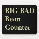 Funny CFO Nicknames - Big Bad Beancounter Mouse Mats