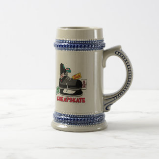 Funny Cheapskate T-shirts Gifts Coffee Mugs