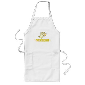 Funny Cheese Lover Long Apron