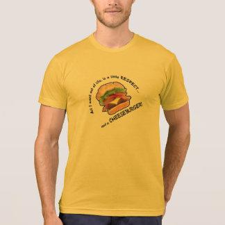 Funny Cheeseburger T Shirts