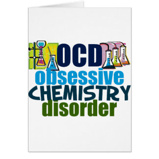 Funny Chemistry Greeting Card