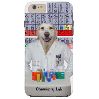 Funny Chemistry Lab/Dog Tough iPhone 6 Plus Case