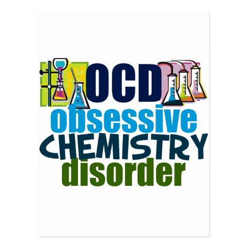Funny Chemistry Postcards