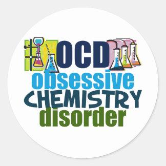 Funny Chemistry Round Sticker