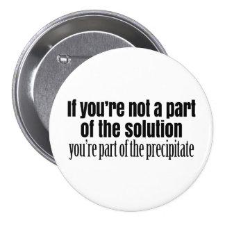 Funny Chemistry Teacher Quote 7.5 Cm Round Badge