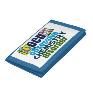 Funny Chemistry Trifold Wallet