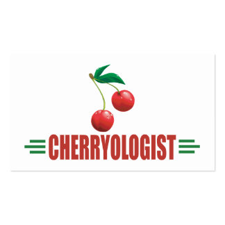 Funny Cherries Pack Of Standard Business Cards