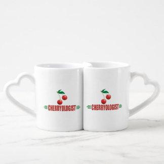 Funny Cherry Coffee Mug Set
