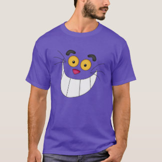 Funny Cheshire Cat Face T-Shirt