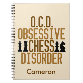 Funny Chess Custom Notebook